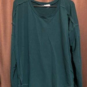 Oversized top, fits large instead of a medium!